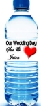 Wedding and Bridal Shower Water Bottle Labels