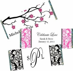 Wedding Candy Bar Wrappers and Favors