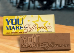 You Make The Difference Chocolate Bars (case of 50)