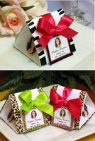Zebra and Leopard Favor Boxes