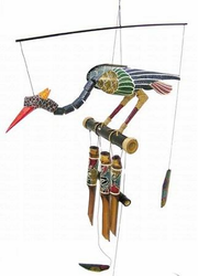 Cohasset Abby  Bird Bamboo  Wind Chime