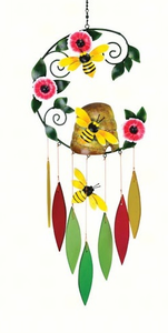 Bumble Bee  Glass Chime
