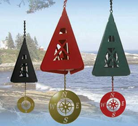 Compass Rose® Wind Chime Bell- 3 Color Choices