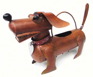 Dachshund Daisy Watering Can