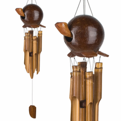 Gertyl the Turtle  Bamboo Chime by Woodstock Chimes
