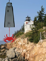 Prospect Lighthouse&reg 5-Sided Bell Chime-Customizable Wind Catcher