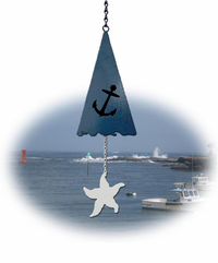 Sea Anchor&reg Wind Chime Bell- Customizable sail