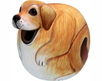 Yellow Lab  Dog Gord Birdhouse