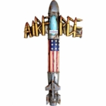 Air Force Military Jet Wall Cross