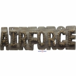 Airforce Bullet Shell Wall Sign