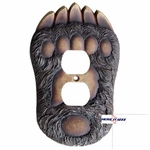 Bear Paw Plug Outlet Cover