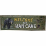 Black Bear Man Cave Sign