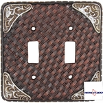 Boot Tip Basket Weave Double Switch