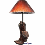 Cowboy Boots Tabletop Lamps