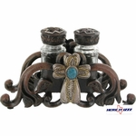 Cross Salt & Pepper Shaker Set