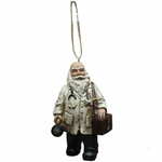Doctor Santa Christmas Ornament