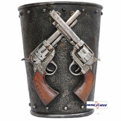 Six Shooter Trash Can