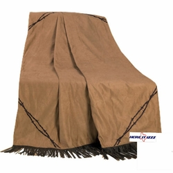 Barbed Wire  Throw Blanket
