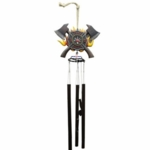 Firefighter Shield Wind Chime