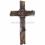 Firefighter Wall Cross