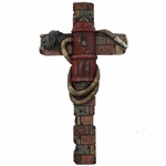 Fireman Fire Hydrant  Decorative Wall Cross
