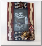 Fireman Firefighter Photo Picture Frame