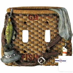 Fly Fishing  Double Switch Covers