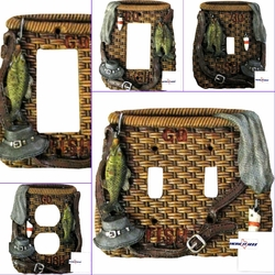 Fly Fishing  Electrical Switch Covers