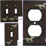 Wild Horse Mustang Switch Outlet Plates