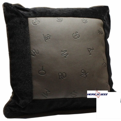 Livestock Branded With Fur Pillow