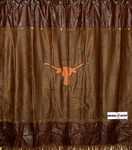 Longhorn Shower Curtain
