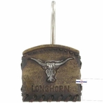 Longhorn Shower Curtain Hooks