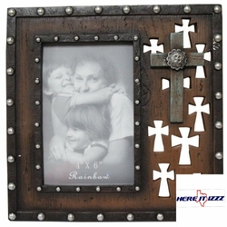 Multi Cross Wood Look 4x6 Frame