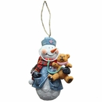 Nurse Snowman Christmas Ornament