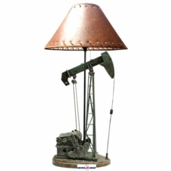 Oil Well Pumping Rig Lamp