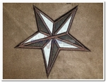 Patched Star  Bedding Queen