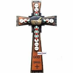 "Pharmacist 12"" Wall Cross"