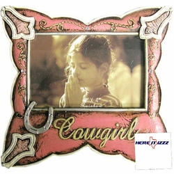 Pink Cowgirl 6x4 FramE