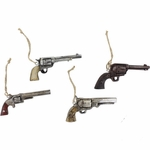 Pistol Ornament 4PC Set