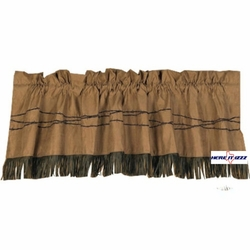 Barbed Wire Valance