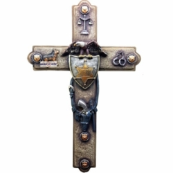 Sheriff Officer Law Enforcement Wall Cross