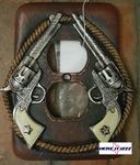Six Shooter Electrical Outlet Cover