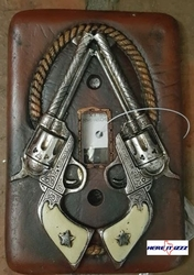 Six Shooter Light Switch Plate
