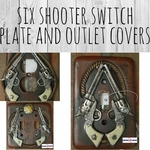 Six Shooter Switch Plate And Outlet Covers