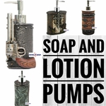 Soap and Lotion Pumps