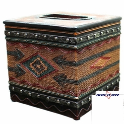 Southwestern Aztec Arrow Tissue Box Cover