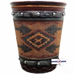 Southwestern Aztec Arrow Wastebasket