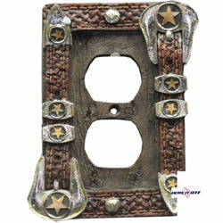 Star Buckle Electric Plug Plate