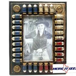 Texas 4x6 Frame With Bullets