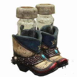 Texas Boot Salt and Pepper Shaker Set